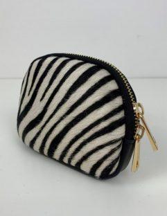 zebra print purse
