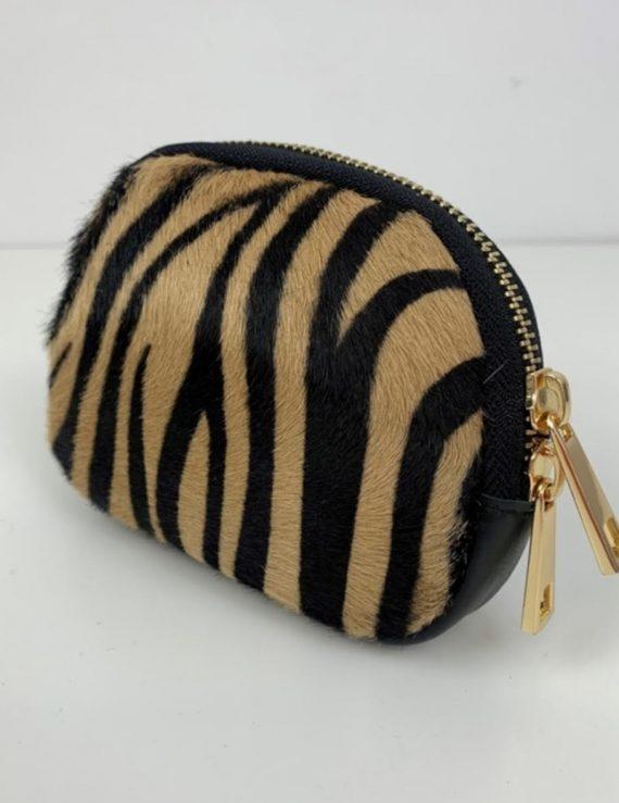 tiger print purse