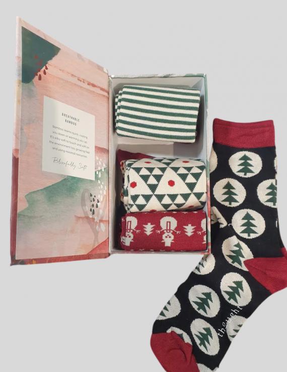 Christmas Socks Box Set
