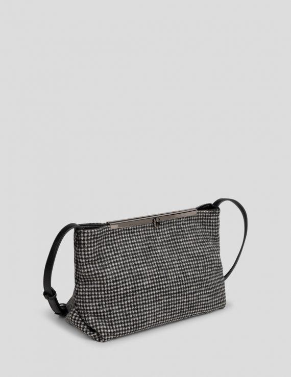 mini crossbody wool bag